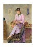 A Fair Crop Giclee Print by Frederick James McNamara Evans