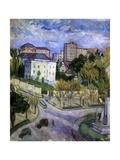 Plaza Del Castelar, Madrid, 1910 Giclee Print by Juan de Echevarria y Zuricaldav