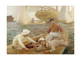 The Run Home, 1902 Giclee Print by Henry Scott Tuke