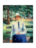 Girl Without Work, 1918-19 Giclee Print by Kasimir Malevich