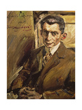 Portrait of Julius Meier-Grafe (1867-1935) Art Historian, c.1912-14 Giclee Print by Lovis Corinth