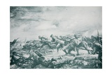 The Charge of the 4th Canadian Battalion at Ypres, from 'The Year 1915: a Record of Notable… Giclee Print by Christopher Clark