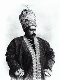 Mohammad Ali Shah Qajar, 1907-09 Photographic Print by Stanislaus Walery