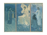 The Resurrection Triptych, 1922 Giclee Print by Mikhail Vasilievich Nesterov