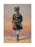 Honorary Native Commandment Nawab Sir Hafiz Muhammad Abdullah Khan, Kcie, I Giclee Print by Alfred Crowdy Lovett