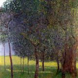 Gustav Klimt - Fruit Trees, 1901 Digitálně vytištěná reprodukce