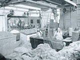 Interior of a Hat Mill, Victoria, c.1900, from 'Under the Southern Cross -  Photographic Print by  Australian Photographer