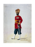 Soldier of the 35th Sikhs, Subadar, Illustration for 'Armies of India' by Major G.F. MacMunn,… Giclee Print by Alfred Crowdy Lovett