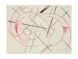 Constructivist Composition, 1922 Giclee Print by Lyubov Sergeevna Popova