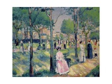 On the Avenue, 1903 Giclee Print by Kasimir Malevich