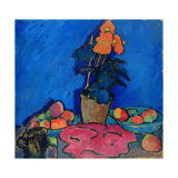 Still Life with Begonia, 1911 Giclee Print by Alexej Von Jawlensky