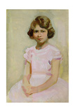 H.M. The Queen as Princess Elizabeth Giclee Print by Harry Watson