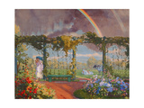 Landscape with a Rainbow, 1915 Giclee Print by Konstantin Andreevic Somov