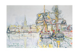 The 'Emerald Coast', St. Malo, 1931 Giclee Print by Paul Signac