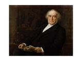 Portrait of Professor James Legge (1815-97) First Oxford Professor of Chine Giclee Print by James Elder Christie