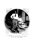 The Inhabitants of 'The Valley of the Moon', Mr and Mrs Jack London, from 'The Illustrated London… Giclee Print