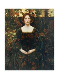 Womanhood, 1925 Giclee Print by Thomas Edwin Mostyn