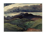 The Dark Mountains (Brecon Beacons) Giclee Print by James Dickson Innes