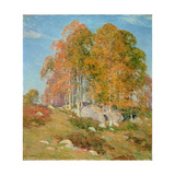 Early October, 1906 Giclee Print by Willard Leroy Metcalf