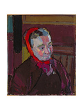 Portrait of Mrs Mounter, 1916-17 Giclee Print by Harold Gilman
