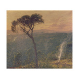 A Ligurian Valley, c.1910 Giclee Print by Henry Herbert La Thangue