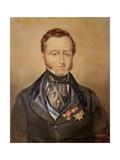 Portrait of Llamado Jose Maria Queipo Del Llano Ruiz de Saravia (1768-1843) Conde de Toreno,… Giclee Print by  Ghersi