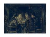The Potato Eaters, 1902 Lámina giclée por Jozef Israels