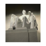 Abraham Lincoln, 1914-20 (View from Below) Giclee Print by Daniel Chester French