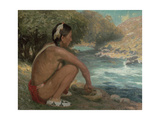 The Mountain Stream, c.1914 Giclee Print by Eanger Irving Couse