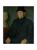 Portrait of Sir George Frampton (1860-1928) 1905 Giclee Print by William Strang