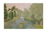 Normandy Landscape, 1903 Giclee Print by Felix Edouard Vallotton