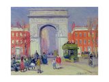 Washington Square Park, c.1908 Giclee Print by William James Glackens