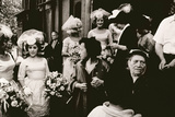 Old St. Patrick's, Mulberry Street Wedding, c.1953-64 Photographic Print by Nat Herz