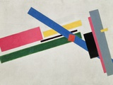 Suprematist Construction Reproduction procédé giclée par Kasimir Malevich