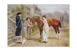 A Favourite Mare, c.1900 Giclee Print by George Goodwin Kilburne