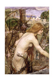 The Flower Picker Giclee Print by John William Waterhouse