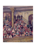 The Upper Circle Giclee Print by Mabel F. Layng