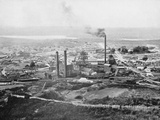 The Tasmania Gold Mine, Beaconsfield, Tasmania, c.1900, from 'Under the Southern Cross - Glimpses… Photographic Print by  Australian Photographer