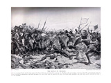 The Battle of Abu Klea, 17th January 1885, Illustration from 'Hutchinsons H Giclee Print by William Barnes Wollen
