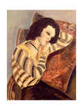 Portrait of a Woman, 1930 Giclee Print by Charles Laborde
