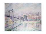 The Bridge, 1928 Giclee Print by Paul Signac