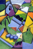 Landscape and Houses at Ceret, 1913 Giclee Print by Juan Gris