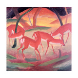 Deer Giclee Print by Franz Marc