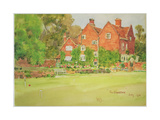 The Croquet Lawn at the Woodrow, 1911 Giclee Print by Wilfred Williams Ball