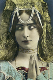 Postcard Depicting the Dancer Cleo de Merode (1875-1966) Photographic Print by  Reutlinger Studio
