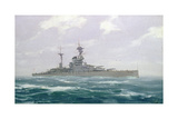 HMS Resolution, 1923 Giclee Print by Duff Tollemache