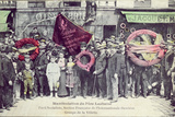 Demonstration at Pere-Lachaise for the Commemoration of the Paris Commune, by Socialist Party,… Photographic Print by  Gondry