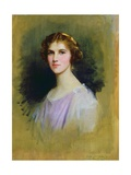 Sketch for a Portrait of Mrs Ackers, 1925 Giclee Print by Sir Samuel Luke Fildes
