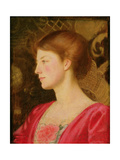 Portrait of Lady Irene Stokes (Nee Ionides) c.1908 Giclee Print by Marianne Stokes