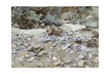 River Bed Giclee Print by John Singer Sargent